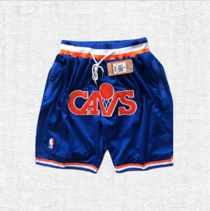 Cleveland Cavaliers Blue Shorts with Pocket