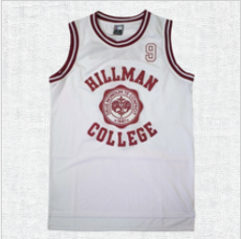 Load image into Gallery viewer, Hillman College #9 Dwyane Wayne A Different World Basketball Jersey