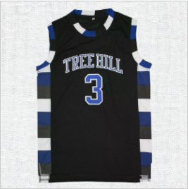 Lucas Scott One Tree Hill Ravens #3 Basketball Jersey