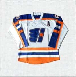 Doug Glatt Goon #69 Halifax Highlanders Movie Ice Hockey Jersey