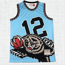 Load image into Gallery viewer, Vancouver Grizzlies Ja Morant Jersey #12 Sky Blue