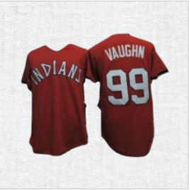 Major League Cooperstown Baseball Jersey #99 Rick Vaughn