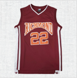 Timo Cruz #22 Richmond Oilers Coach Carter Basketball Jersey