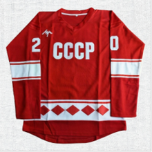 Load image into Gallery viewer, Vladislav Tretiak #20 CCCP Miracle on Ice Hockey Jersey