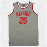 Zack Morris #25 Saved By the Bell Bayside Tigers Jersey