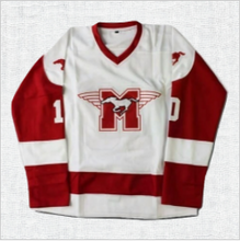 Load image into Gallery viewer, Dean Youngblood #10 Mustangs Hockey Jersey