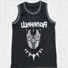 Load image into Gallery viewer, Black Panther Wakanda T`Challa Killmonger Movie Basketball Jersey #1