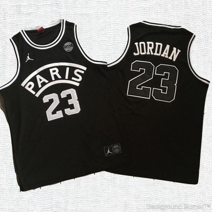 Michael Jordan Paris X PSG Jersey - Black