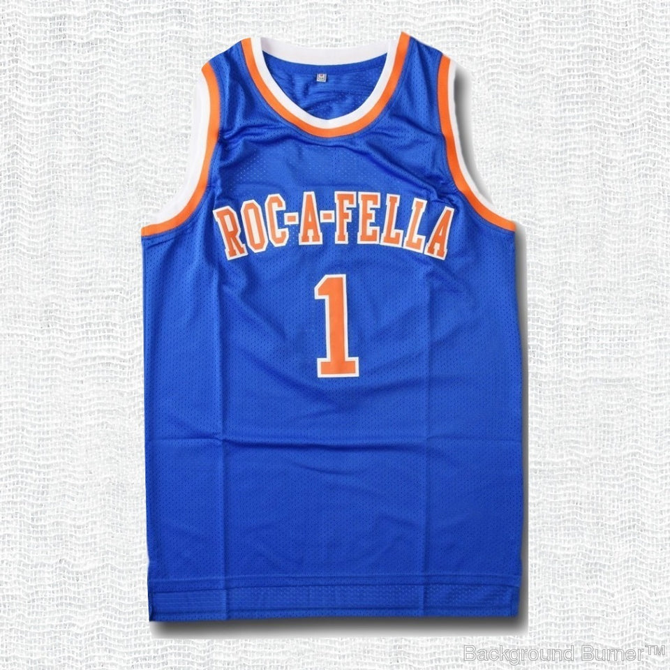 S.carter Roc-a-fella Jersey - Blue