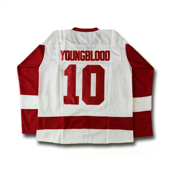 Dean Youngblood #10 Mustangs Hockey Jersey