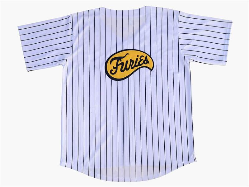 Furies The Warriors Baseball Jersey