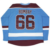 Gordon Bombay #66 Minnehaha Waves Mighty Ducks Movie Jersey