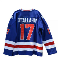 Load image into Gallery viewer, Jack O'Callahan #17 Miracle on Ice USA Hockey Jersey