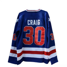Load image into Gallery viewer, Jim Craig #30 Miracle on Ice Hockey jersey