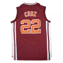 Load image into Gallery viewer, Timo Cruz #22 Richmond Oilers Coach Carter Basketball Jersey