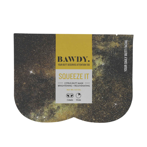 BRIGHTENING+ REJUVENATING SHEET BUTT MASK