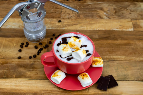 Valentines Day Toasted Marshmallow Latte Recipe