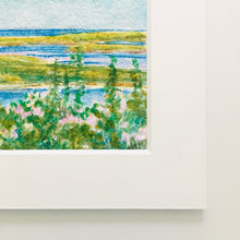 Load image into Gallery viewer, Afternoon at the Salt Marsh, original watercolor, 5x7
