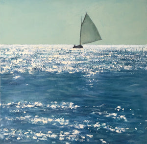 Running Downwind, 20x20