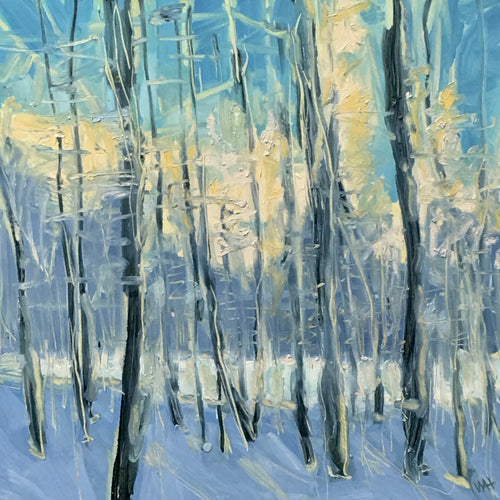 Winter Trees, 16x16