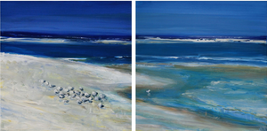 Grounded, 12x24 (diptych)