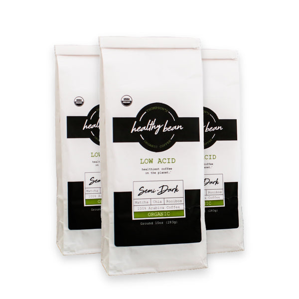 Healthy Bean Coffee - 3 Pack