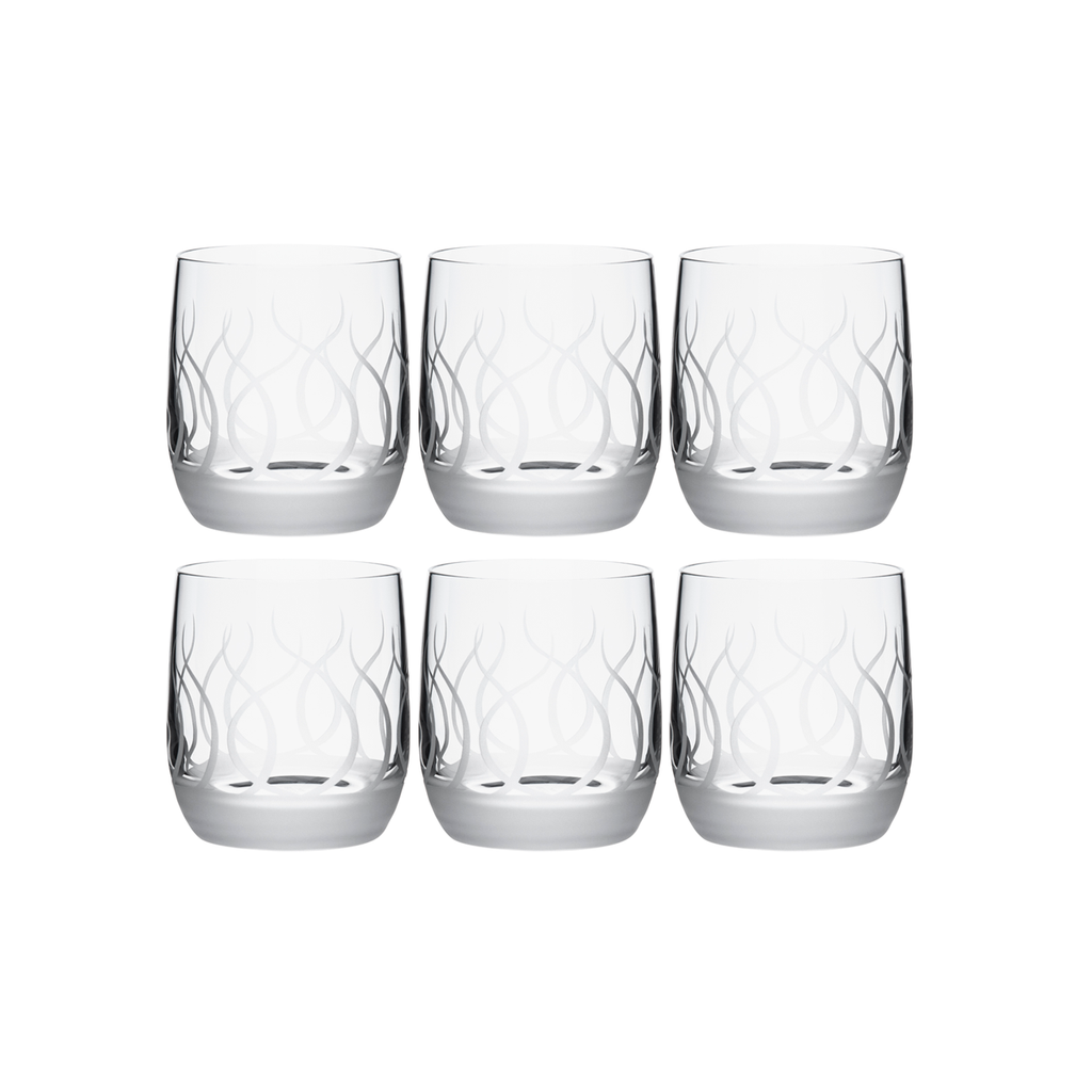 BLADE DOUBLE OLD FASHIONED, SET OF 6