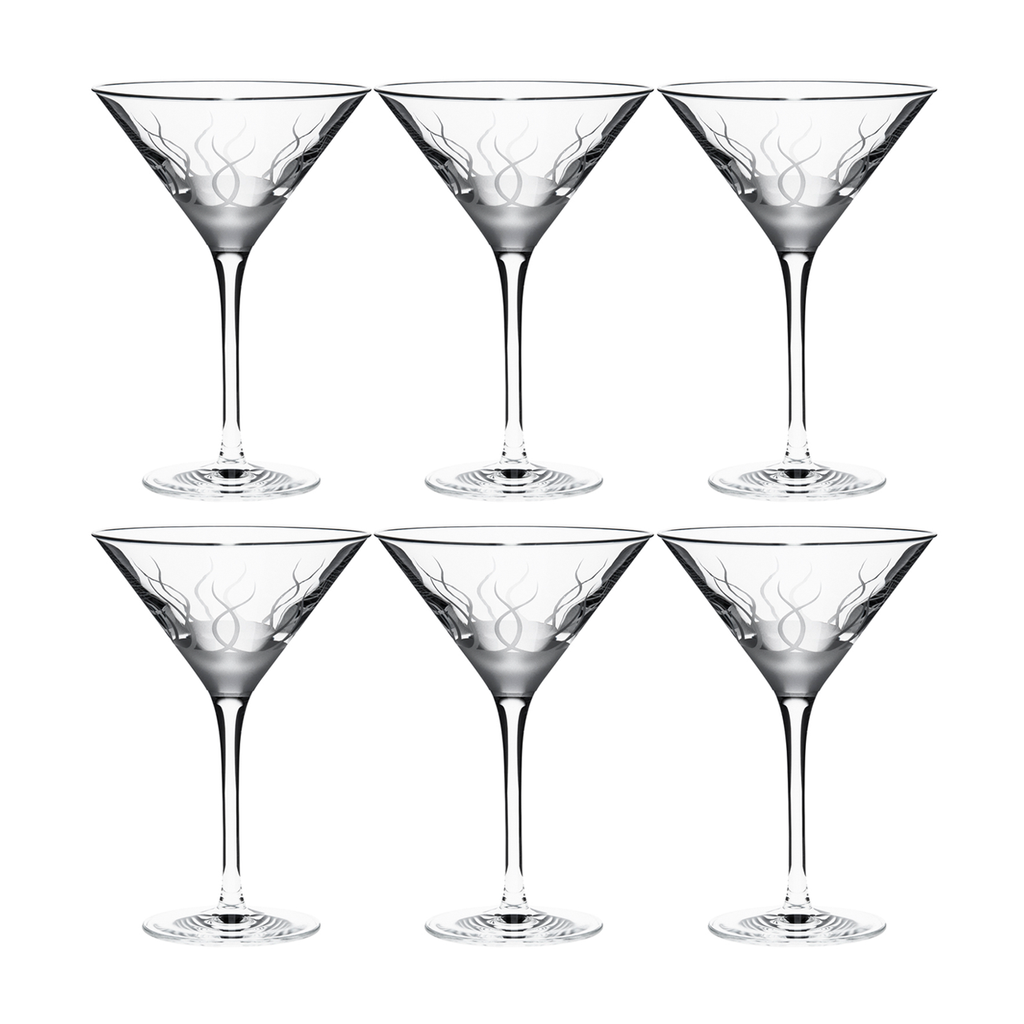 BLADE MARTINI GLASS, SET OF 6