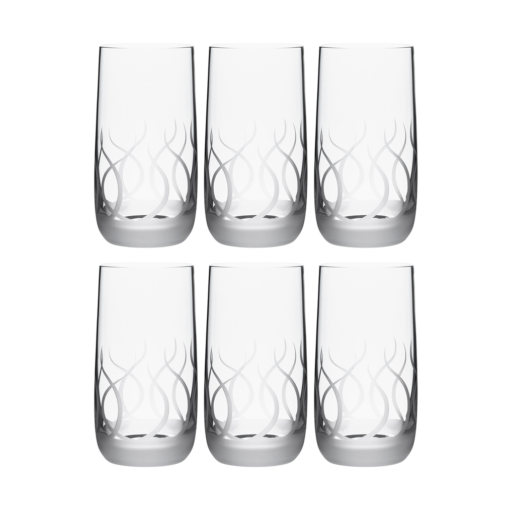 BLADE TUMBLER, SHORT, SET OF 6