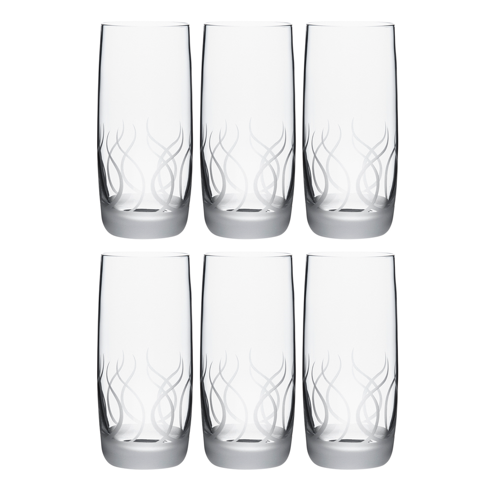 BLADE TUMBLER, TALL, SET OF 6