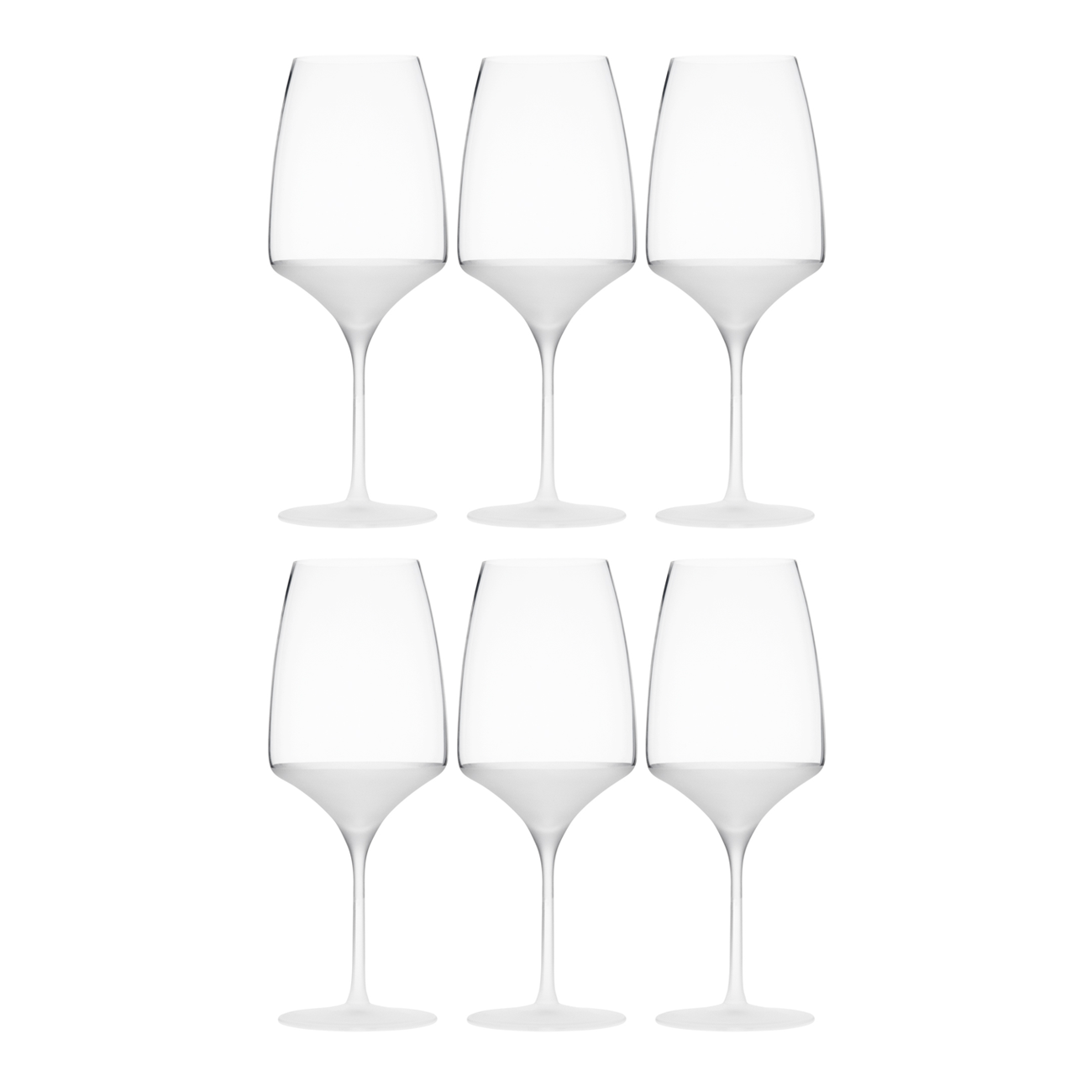 FROST BORDEAUX, SET OF 6