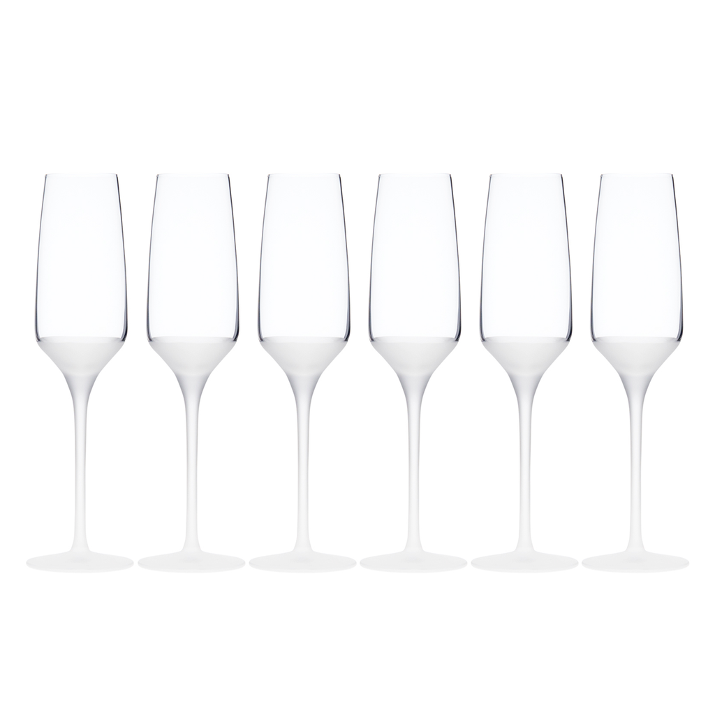 FROST FLUTE, SET OF 6