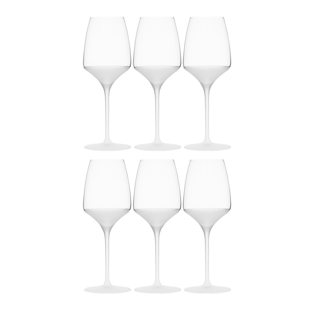 FROST WHITE WINE, SET OF 6