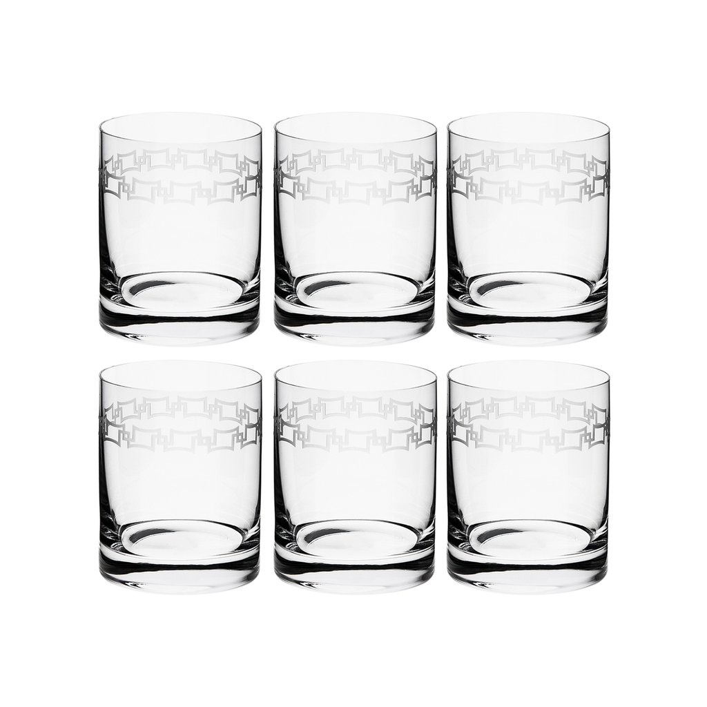 INFINITE DOUBLE OLD FASHIONED, SET OF 6