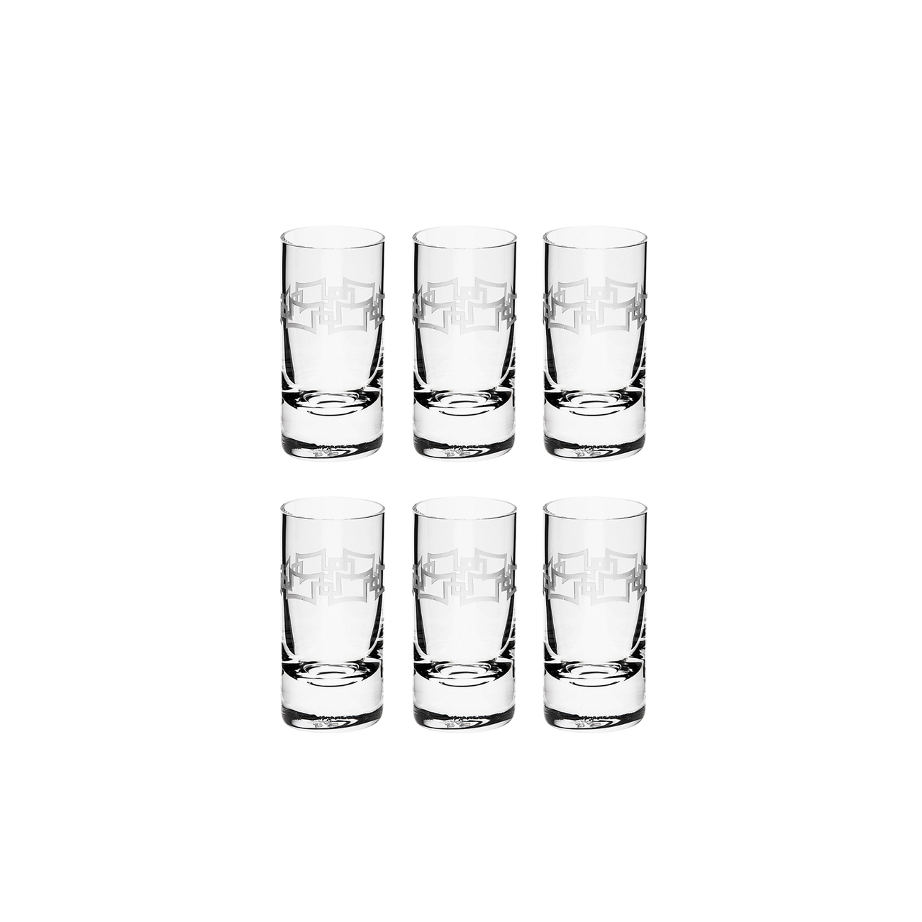 INFINITE SHOT GLASS, SET OF 6
