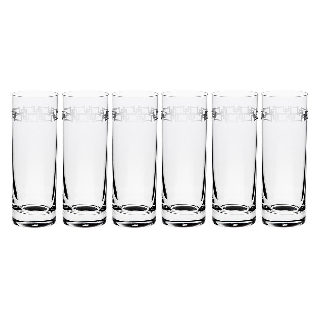 INFINITE TUMBLER, TALL, SET OF 6
