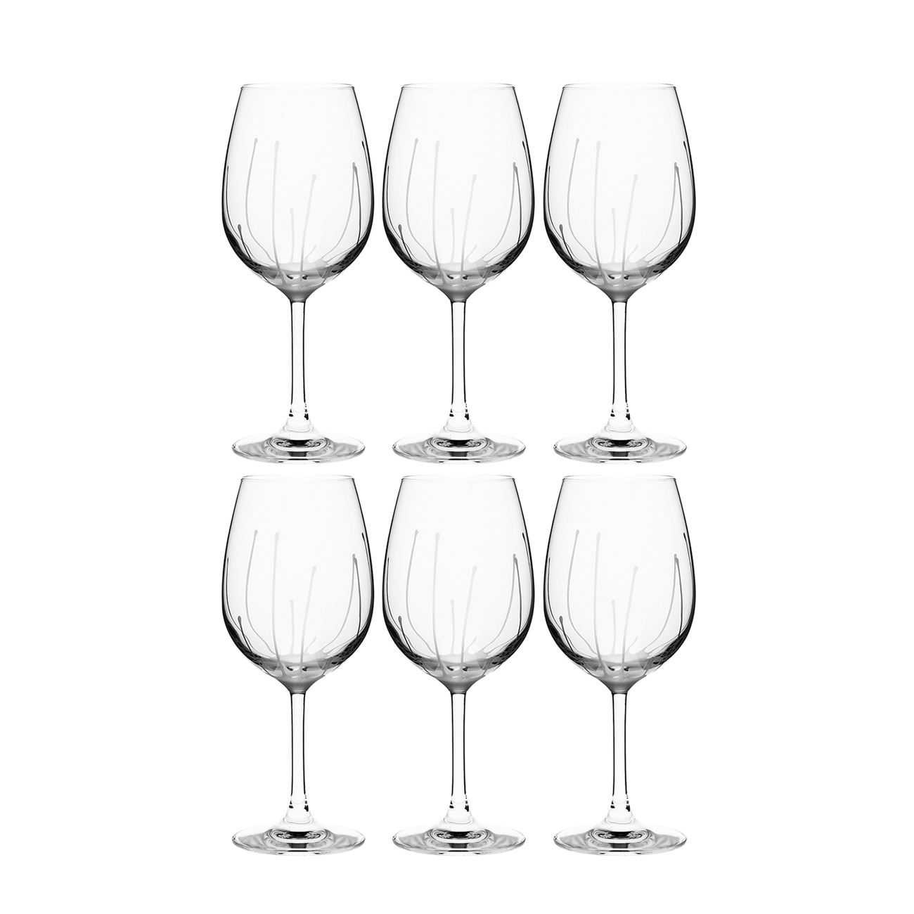 SPLASH WHITE WINE, SET OF 6