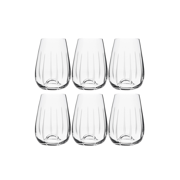 TEARDROP COCKTAIL/JUICE, SET OF 6