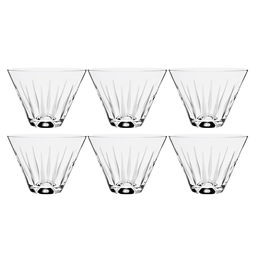 TEARDROP MARTINI , SET OF 6