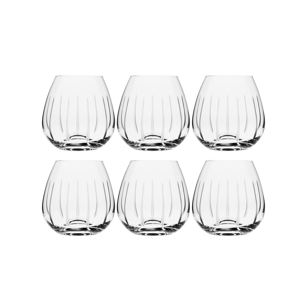 TEARDROP RED WINE, SET OF 6