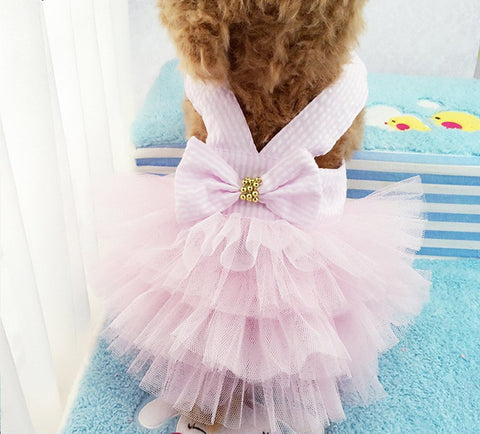 Bowknot Lace Tutu Dress