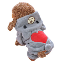 Load image into Gallery viewer, Teddy Heart Onesie