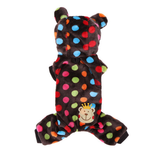 Polkadot Bear Onesie - 2 Color Options