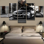 5 Piece Nissan GTR Canvas Painting