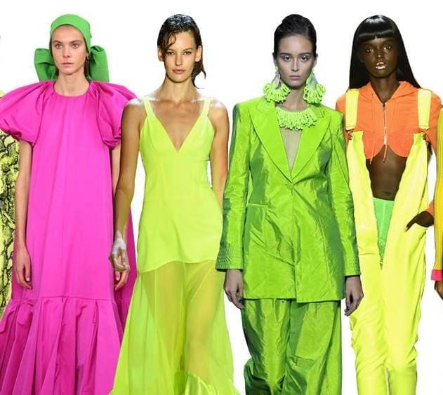 THE NEON TREND IS HERE TO STAY