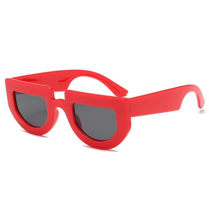 BRIDGE SUNGLASSES - Red