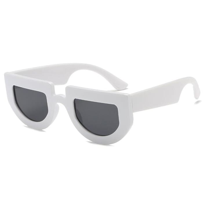 BRIDGE SUNGLASSES - White