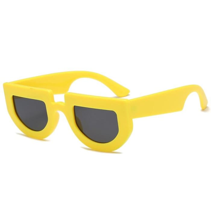 BRIDGE SUNGLASSES - Yellow