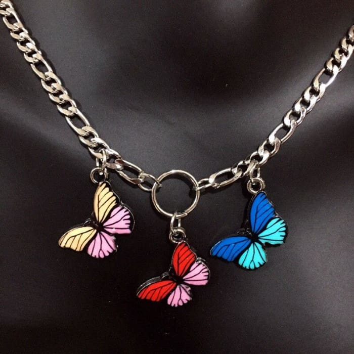 BUTTERFLIES NECKLACE - Butterfly
