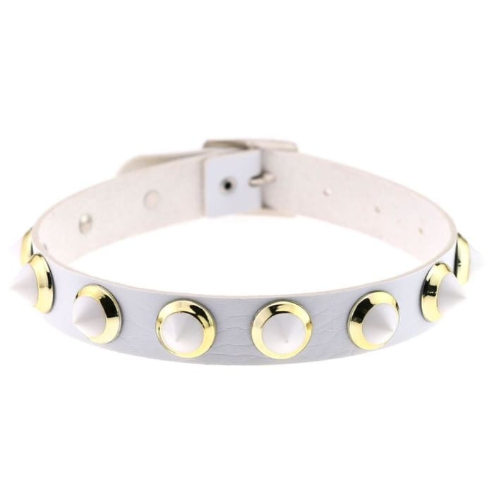 CANDY CHOCKER - White